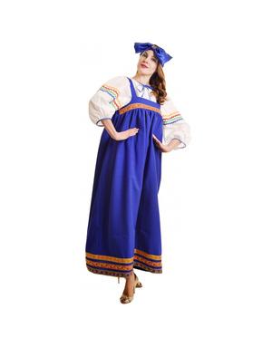 Babushka costume russe