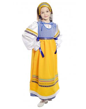 Folklore costume for girls ''Sudarushka''