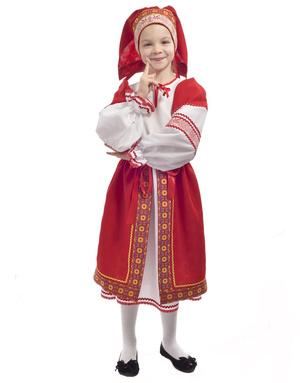 Folk costume for girls ''Matrena''