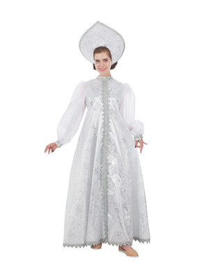 Snow Maiden Russian Costume White