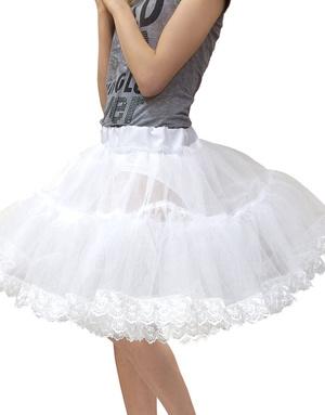 Fluffy White Petticoat
