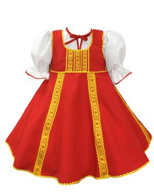 Costume de danse russe ''Polinka''