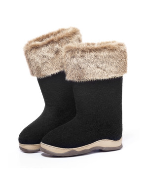 Chaussures en feutre russe valenki ''Blizzard ''