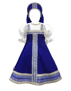 Russian dance costume ''Liudochka''