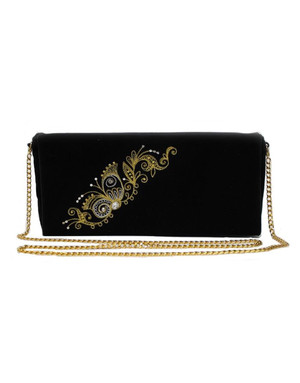 Clutch Evening Bag ''Butterfly''}