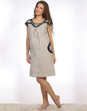 Linen dress ''Svetlana''