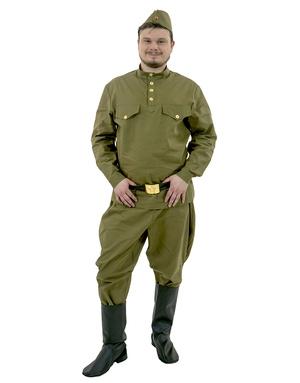 Costume Carnaval Militaire Russe