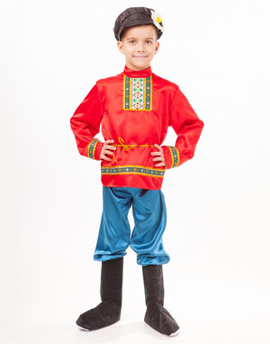 Russian Boy Costume ''Vanushka''
