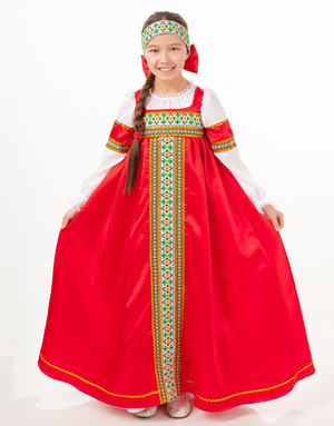 Russian Doll Dress ''Mariushka''