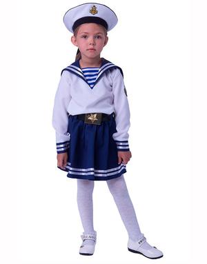 Russian Navy Costume Girl