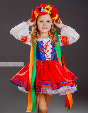 Ukrainian dance dress girls