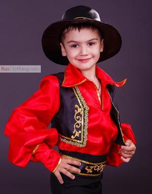 gypsy costume boy