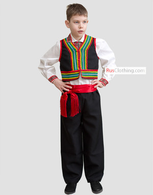 Polish folk costume men