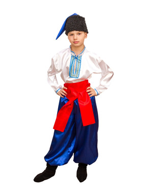 Ukrainian costume boys