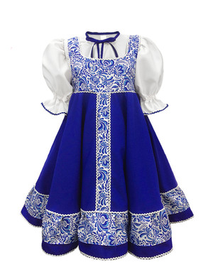 Russian dance costume ''Valenka''