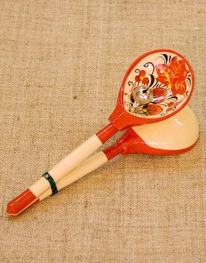 Russian lozhka instrument
