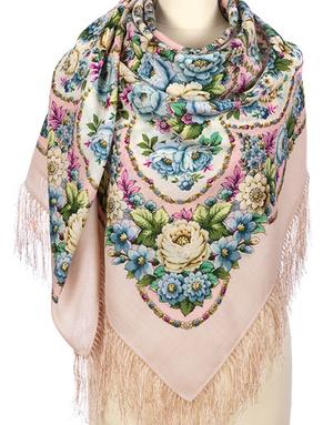 Wool shawl ''Soul's birthday''