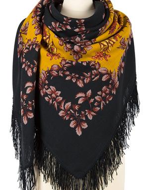 Wool shawl ''Rowan''