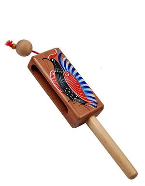 Russian instrument hlopushka