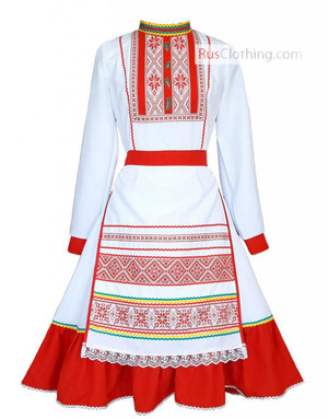 Mari El folk dress
