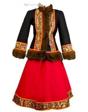 Maslenitsa costume russia