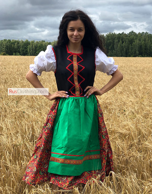 Polish folk dress women