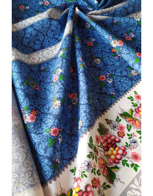 Russian shawl fabric