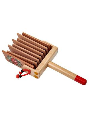 Russian instrument treschotka