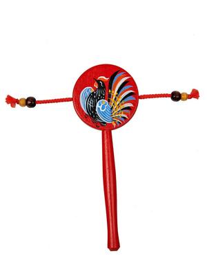 Russian maracas toy