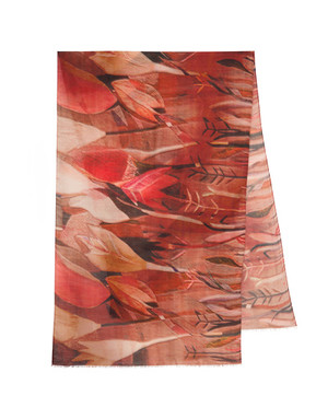 Shawl Wrap ''Autumn song''