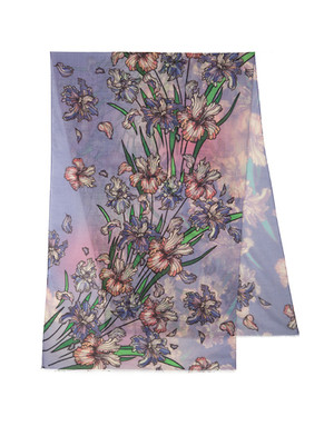 Shawl Wrap ''Spring blossom''