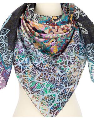 Cotton shawl  ''Sun beam''