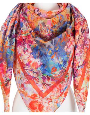 Cotton shawl ''Summer''
