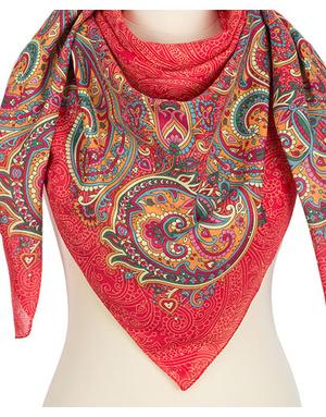 Cotton shawl  ''Rendezvous''
