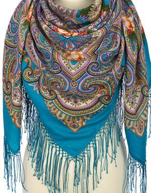 Wool shawl ''Wish maker''