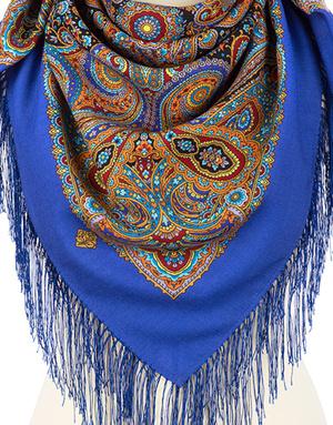 Wool shawl ''City Dweller''