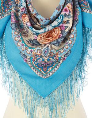Wool shawl ''Aurore''