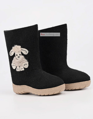 Kids valenki felt boots
