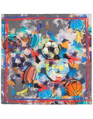 Cotton head scarf ''Football dream''