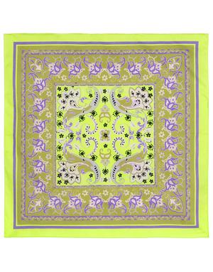 Cotton head scarf ''Magic flower''