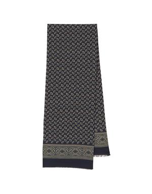 Men wool scarf ''Victor'''