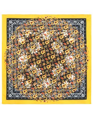 Cotton head scarf ''Orangina''
