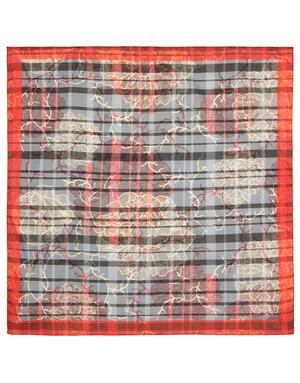 Cotton head scarf ''Scottish style''