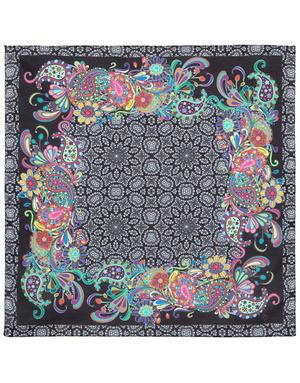 Cotton head scarf ''Eastern kaleidoscope''