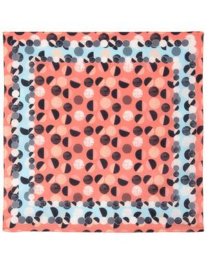 Cotton head scarf ''Funny drops''
