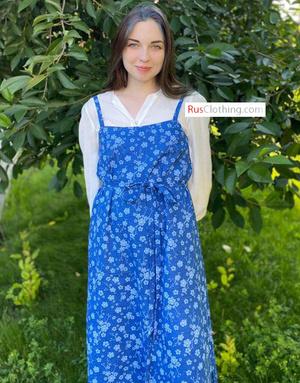 russian sarafan dress