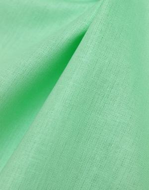 {[en]:Cotton fabric ''Bright Mint''}