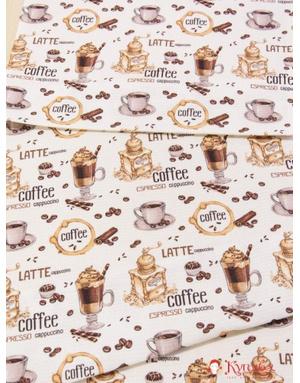 {[en]:Waffle canvas ''Coffee''}