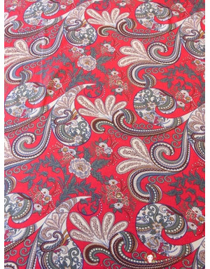 {[en]:Cotton fabric ''Vintage ornaments''}