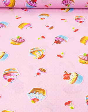 {[en]:Cotton fabric ''Sweet tooth''}